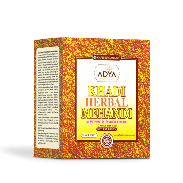 Khadi Organique Brown Mehandi