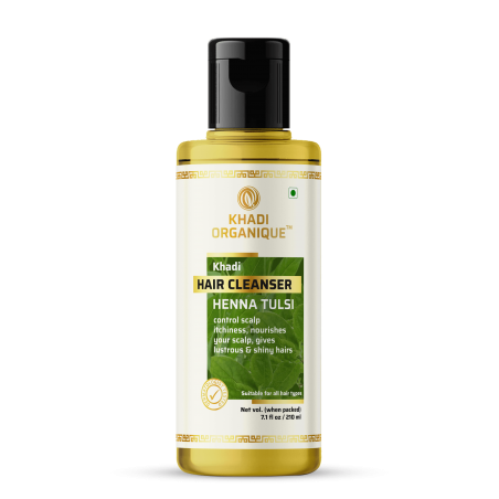 Khadi Organique Heena Tulsi Hair Cleanser