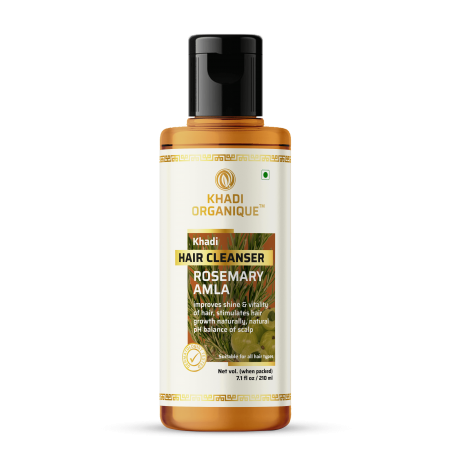 Khadi Organique Rosemary Amla Hair cleanser
