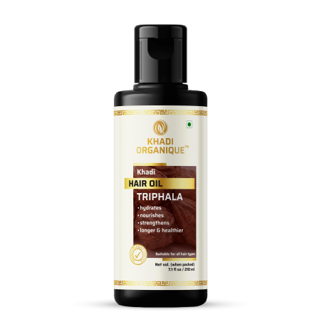 Khadi Organique Triphala Hair Oil