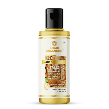 Khadi Organique Vitalizing Hair Oil