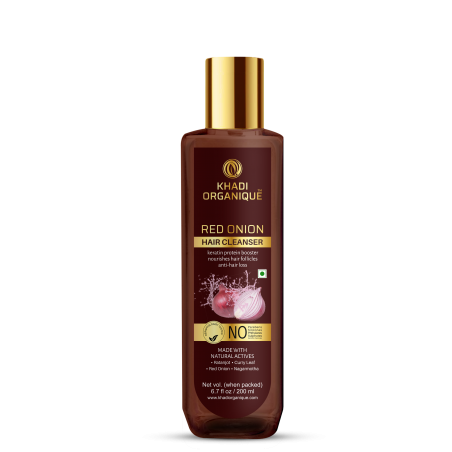 Khadi Organique Red Onion Hair Cleanser