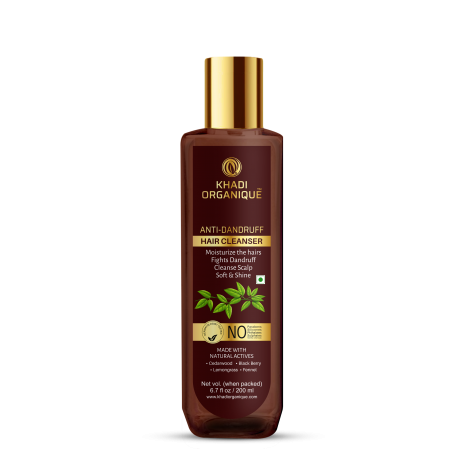 Khadi Organique Anti dandruff Hair Cleanser