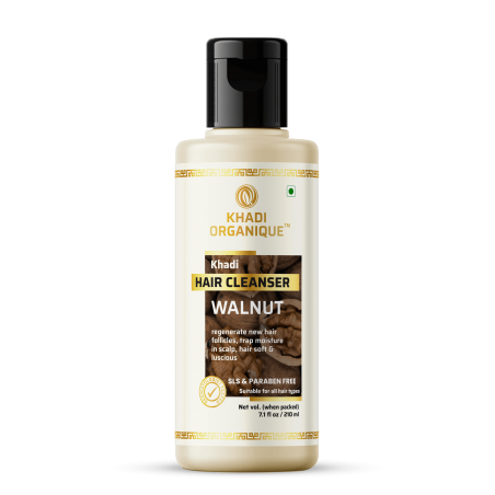 Khadi Organique Walnut Hair Cleanser