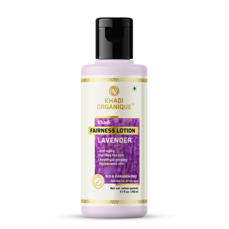 Khadi Organique Lavender Fairness Lotion