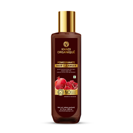 Khadi Organique Pomegranate Hair Cleanser