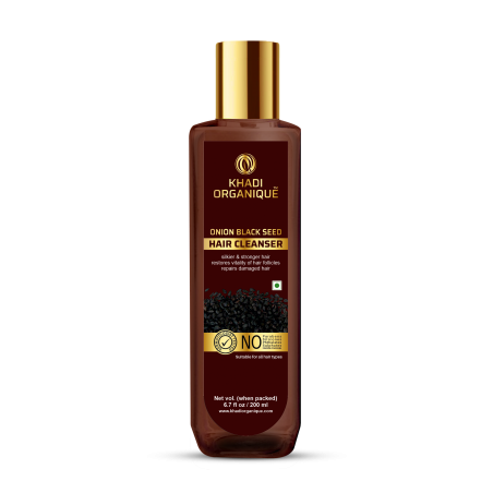 Khadi Organique Onion Black Seed Hair Cleanser