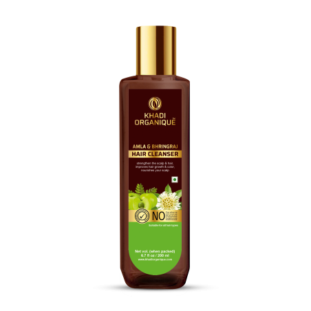Khadi Organique Amla & Bhringraj Hair Cleanser