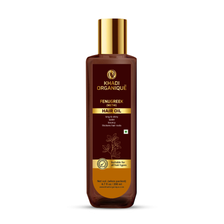 Khadi Organique Fenugreek (Methi) Hair Oil