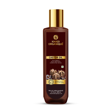 Khadi Organique Castor Oil