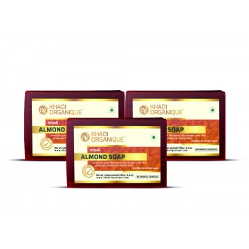 ALMOND SOAP (Pack Of 3)