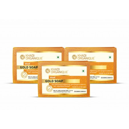 GOLD SOAP (Pack Of 3)