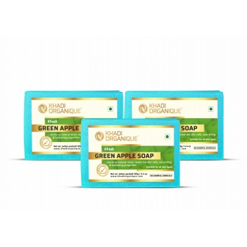 GREEN APPLE SOAP (Pack Of 3)