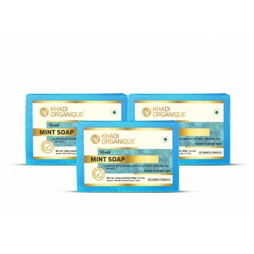 Mint Soap (Pack Of 3)