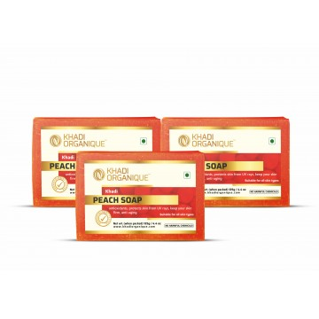 PEACH SOAP (Pack Of 3)