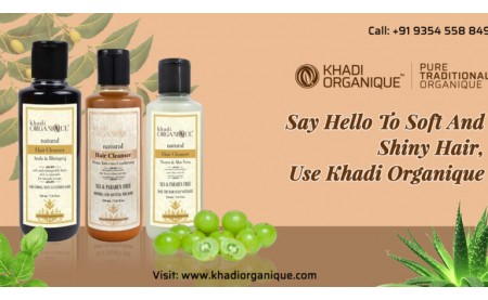 Say Hello To Soft And Shiny Hair, Use Khadi Organique