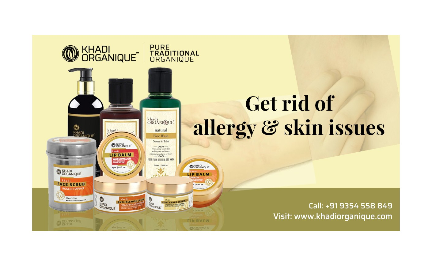 Get Rid of Allergy and Skin Issues